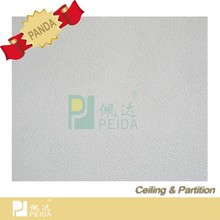 Various Pattern PVC Gypsum Ceiling Tiles Interior Decoration