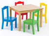 wholesale KD children table China play table and chairs China children's colorful tables