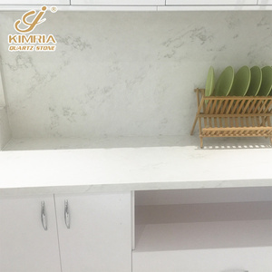 Customized solid surface quartz stone table top/ countertop