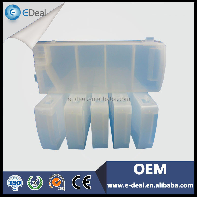 Plastic recycling cartridge for HP 8000s refill ink cartridge