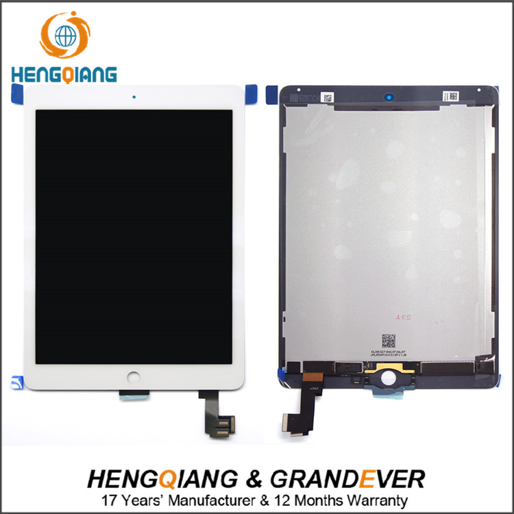 Manufacturer Top selling products  stock mobile lcd screen For ipad air2  lcd