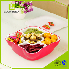 food grade pp plastic food container gift trays snack tray