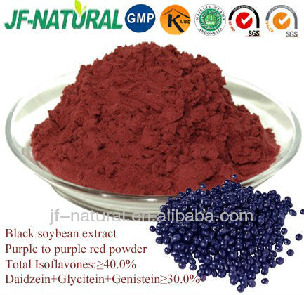 Black soybean extract isoflavones