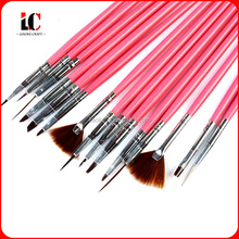 Factory special design hot sell Plastic nail brush/manicure mini nail brush /plastic cleaning brush