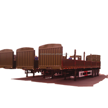 CIMC Truck-Trailer, Transport of Round or Sawn Timber for Sale