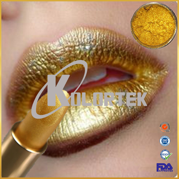 Factory price mica based gold mica pearl pigment for beauty makeup cosmetics