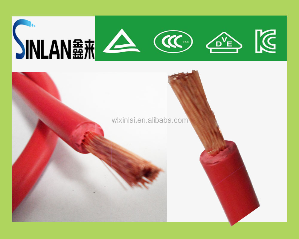 "1/2"" jumper cable copper cable good quality and competitive price"