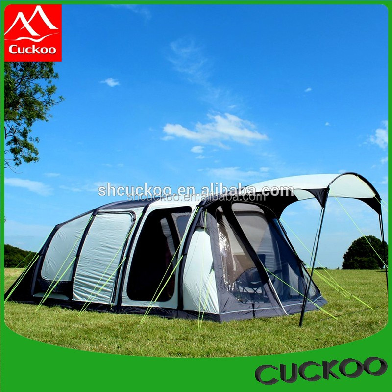 Perfect for Large Groups or Big Family Trip Canvas Bell Tent Swag Tent Geodesic Dome Tent