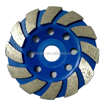 OEM manufacturer Stainless steel diamond cup wheel