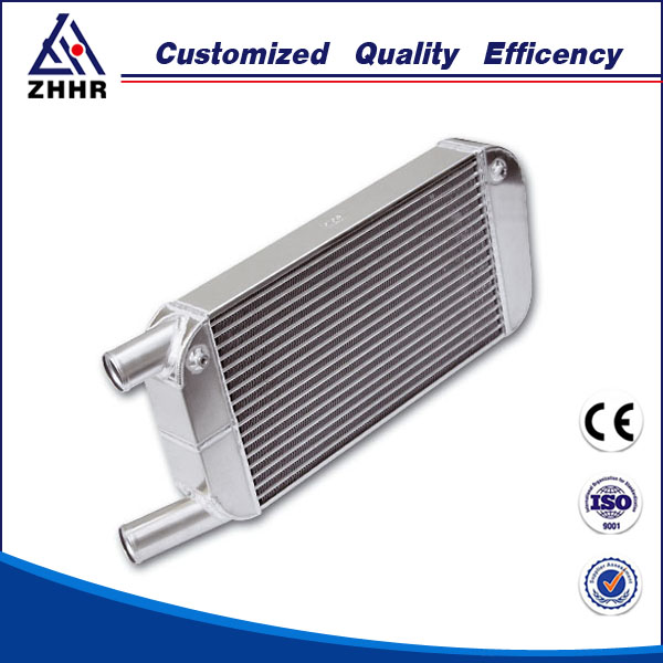 Bar and plate turbo intercooler for universal