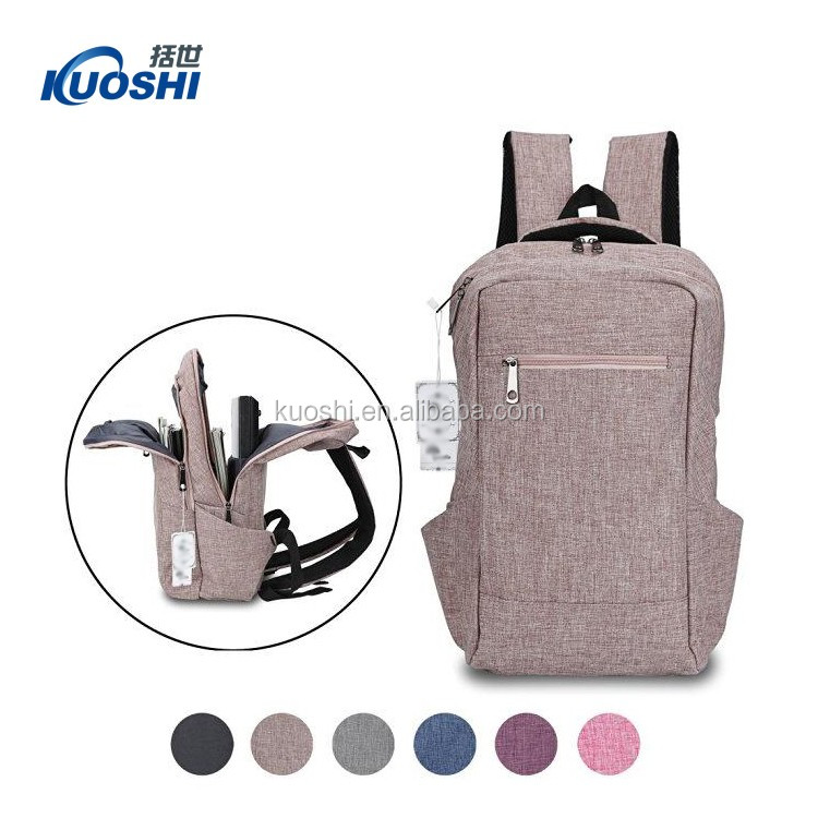 wholesale hidden compartment backpack for laptop