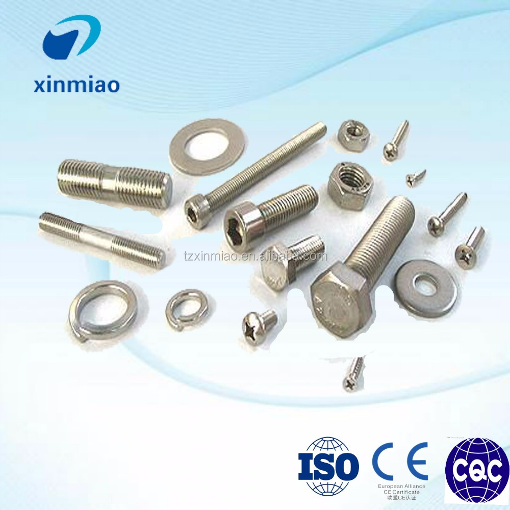 OEM produce din933 full thread hot dip galvanized steel bolt and nut set
