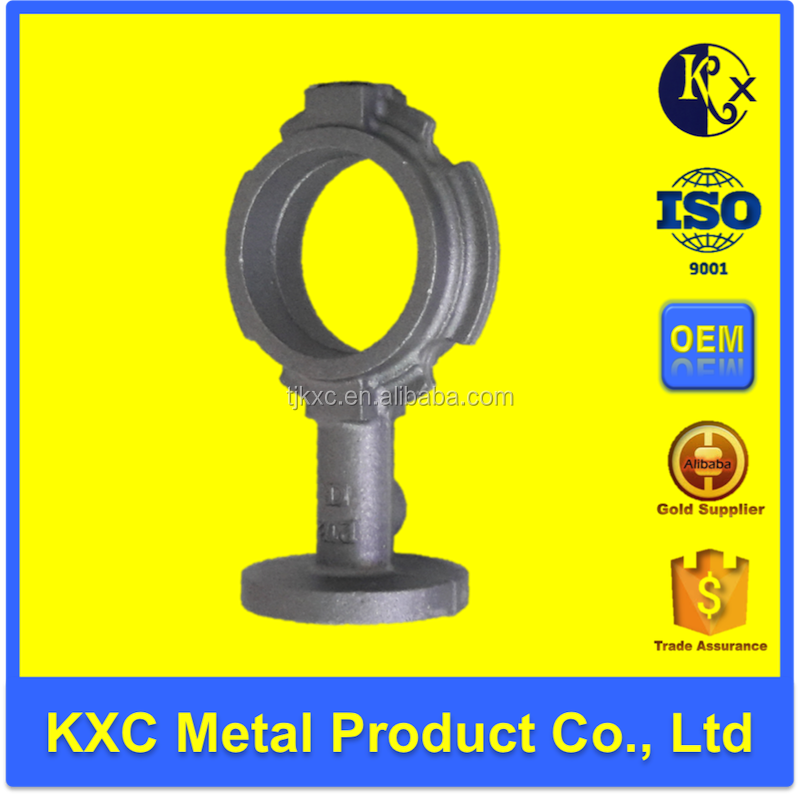 2.5 inch factory supplied custom wafer grey/gray iron butterfly valve