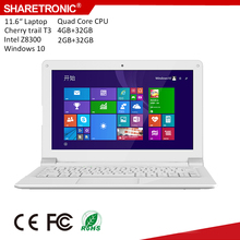 "11.6"" WIFI & Bluetooth Ultra slim light low price mini laptop"