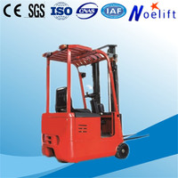 Chinese articulated compact very narrow aisle 3 wheel lifts electric