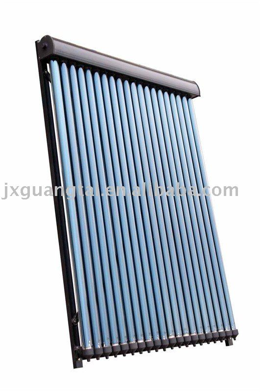 Seperate Pressured heat pipe Solar Panels