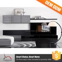 Modern Furniture Bedroom Rack Design Led Stand Wall Unit Tv Cabinet