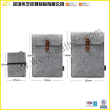 High Quality Promotional Custom Felt Power Bank Bag Accessories Felt File Case Bag