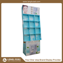 hot selling OEM design Christmas advertising supermarket counter top paper display