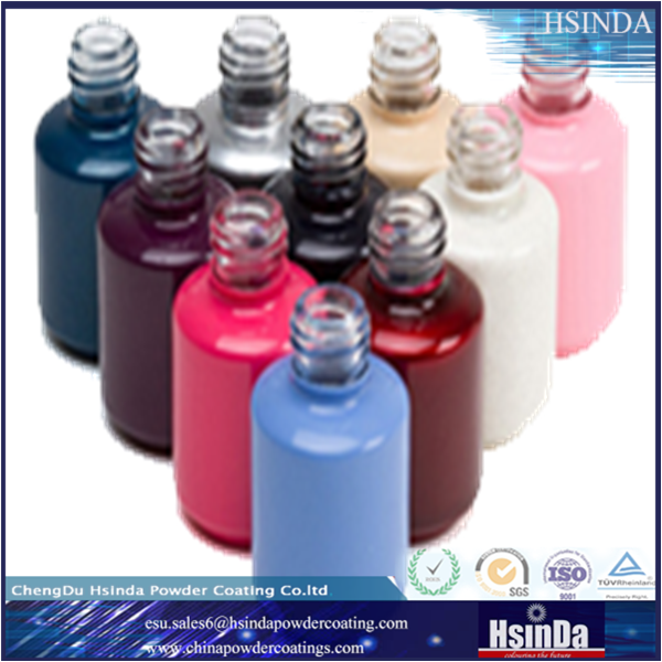 ral color glass bottle powder coating