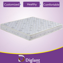american cotton filled plastic covered mattress