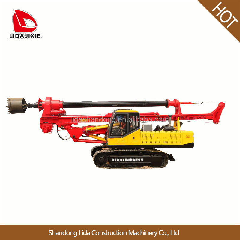 small hydraulic rotary drilling rig machine price in China piling machine