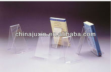 Clear Acrylic Book Holder, Plastic Book Holder Stand , Wide Book Holder w/o lip