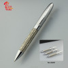 Stainless Steel Wire Pen with Luxury Metal Ballpoint Design Custom Logo Pens