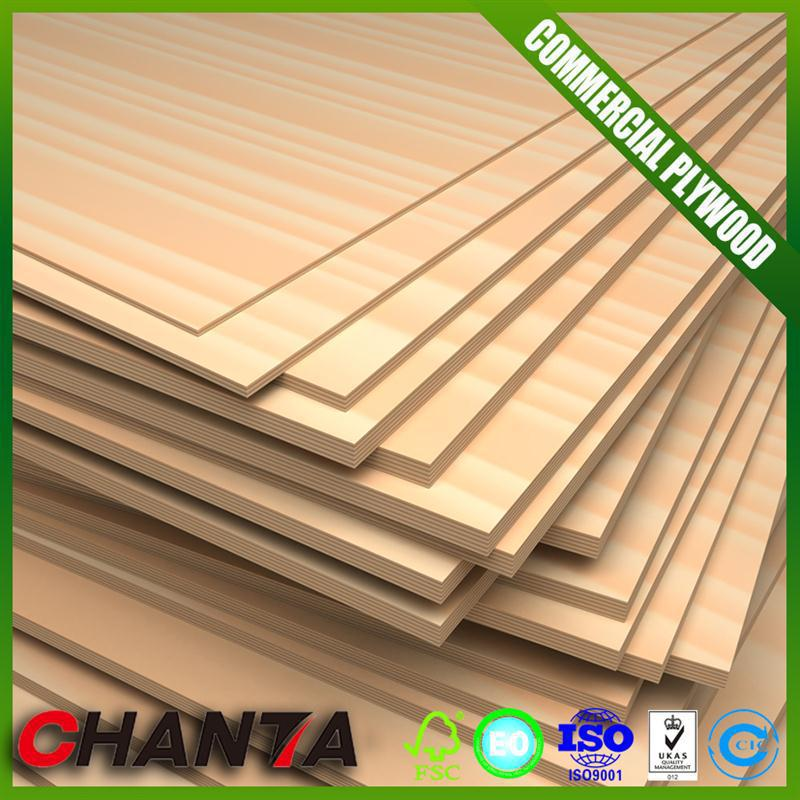 18mm commercial plywood fire rated plywood made in China