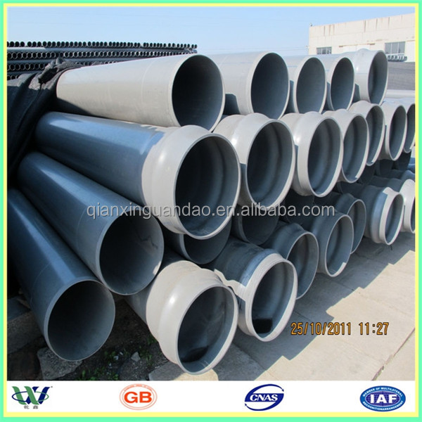 2 1 2 inch pvc pipe for water supply factory price