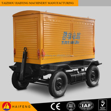 Trailer Mobile 100kw 125kva Diesel Genset Price In India Qucik Delivery