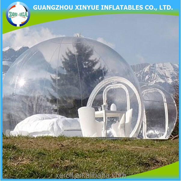Price for sale inflatable bubble tent