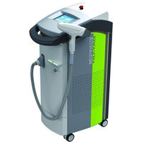 permanant hair removal for dark skin HS 280 nd yag laser hair removal machine by shanghai med apolo