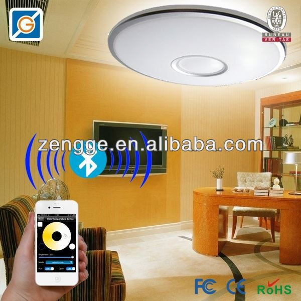ceiling light 2d 38w lamp with wireless led lights with remote