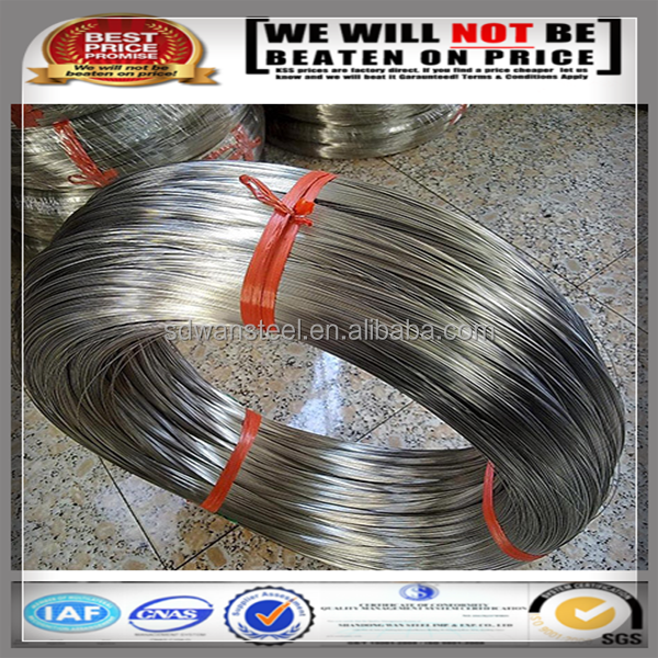 Cheap price Hebei high grade decorative 0.25mm nonmagnetic stainless steel wire