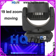 wholesale prices rgbw zoom 19x12w 4in1 led moving head wash light