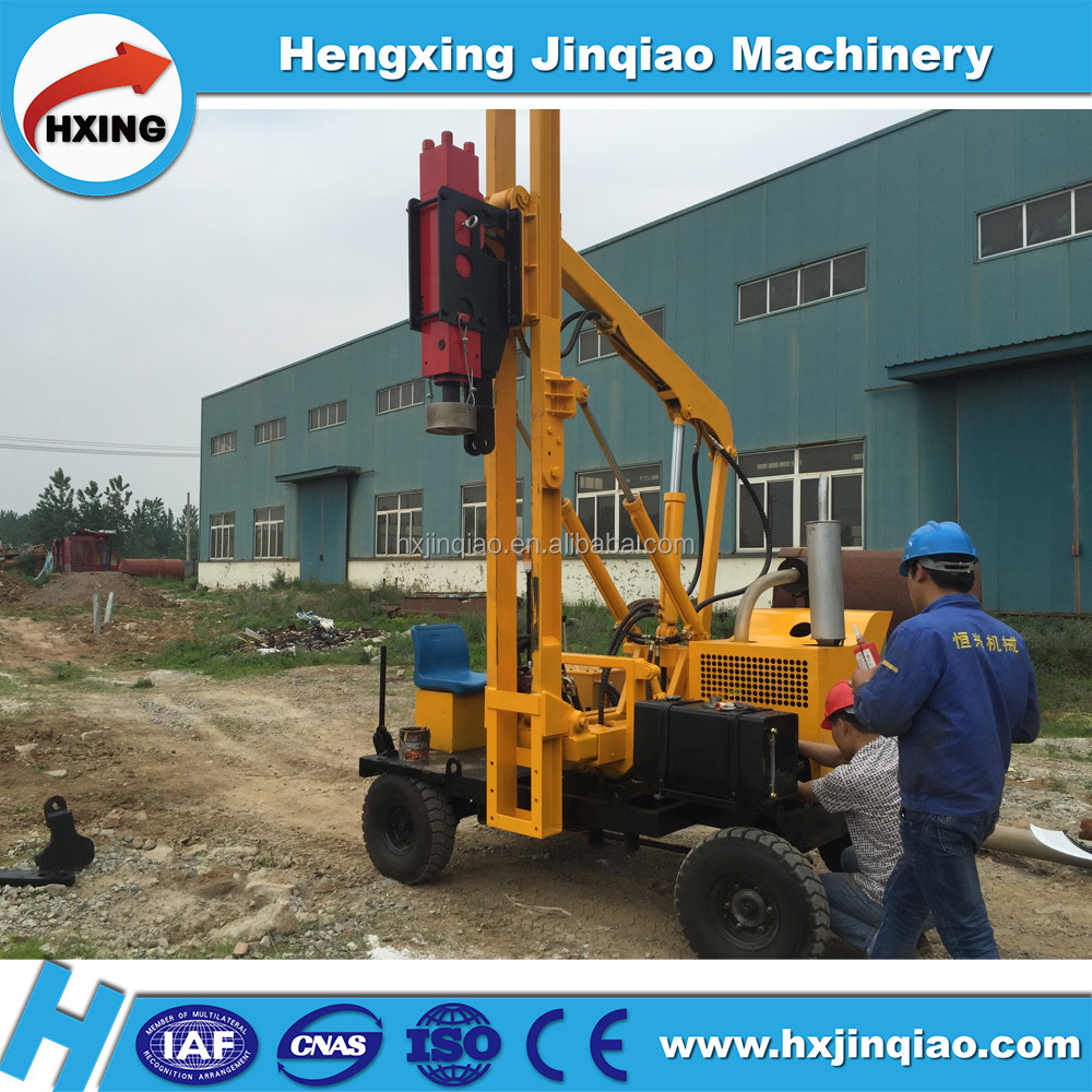 Highway road pile piling machine construction equipment suppliers