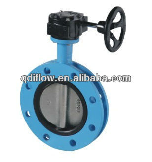 Butterfly valve rubber seat with short face to face length