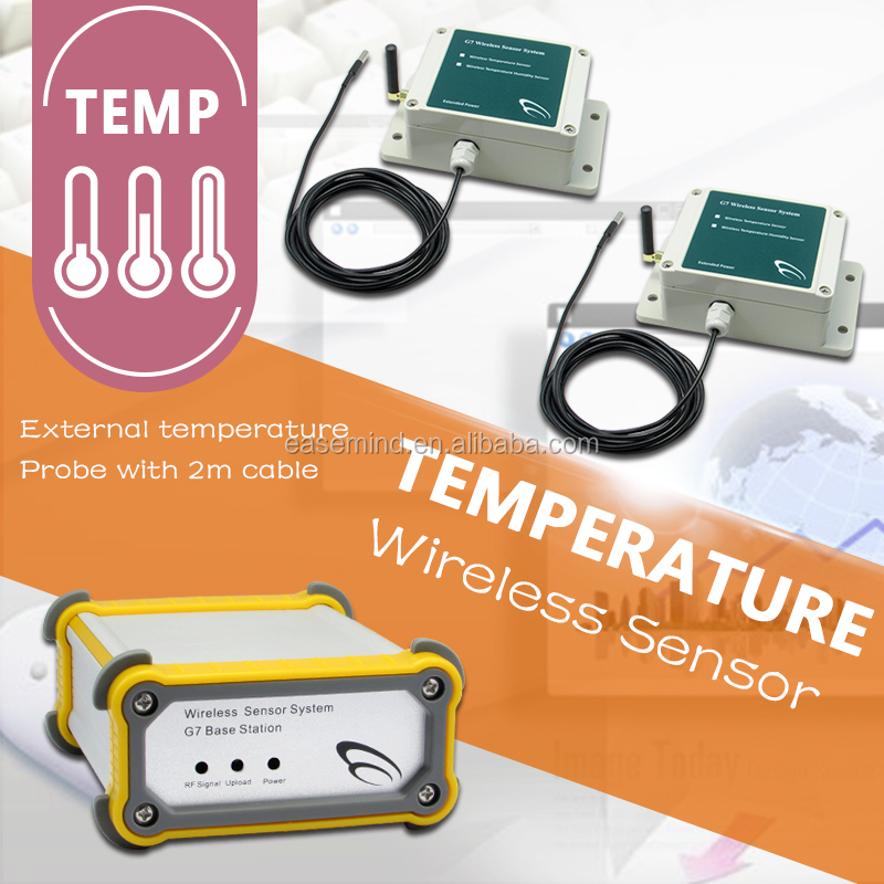 Temperature Wireless Sensor Wireless Programmable Thermostat With App