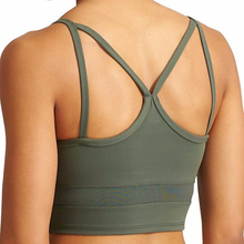 Sexy seamless clothing LOW SUPPORT up neckline design WIRELESS girl sport seamless hot sex women's sports bra x