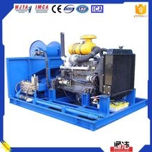 Tojet cold water cleaning process and high pressure cleaner machine type contractor