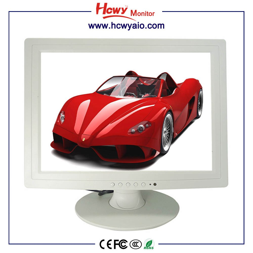 15inch Medical industrial display monitor 15inch 4:3 1024*768 pc monitor