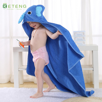 promotional personalized wholesale custom printed Chinese baby kids hooded bamboo microfiber beach towel