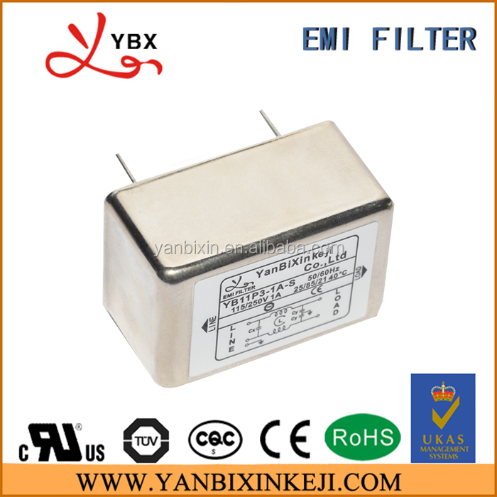 Guangzhou Factory Single Phase PCB EMI Filter