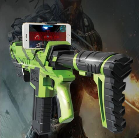 2017 Latest Bluetooth Game Augmented Reality Toy Guns AR Gun For Cell Phone