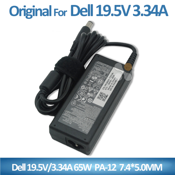 Original and high copy PA-12 mini laptop charger LA65NS2-01 928G4 PA-1650-02DD ac dc 65w 19.5v 3.34a adapter for Dell 7.4*5.0mm