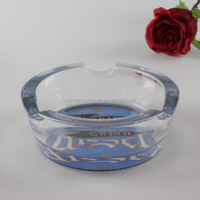 Cheap Beautiful Cigar Crystal Glass Ashtray With Logo