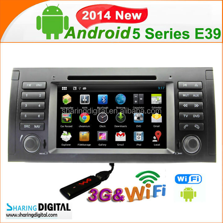 navigation car dvd for BMW E39 support 76 Open-Unit-Logo