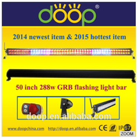 Newest product long life spam led flash light bar colour light bar