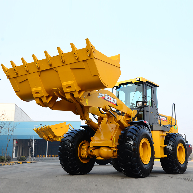 XCMG articulated wheel loader payloader LW500KN